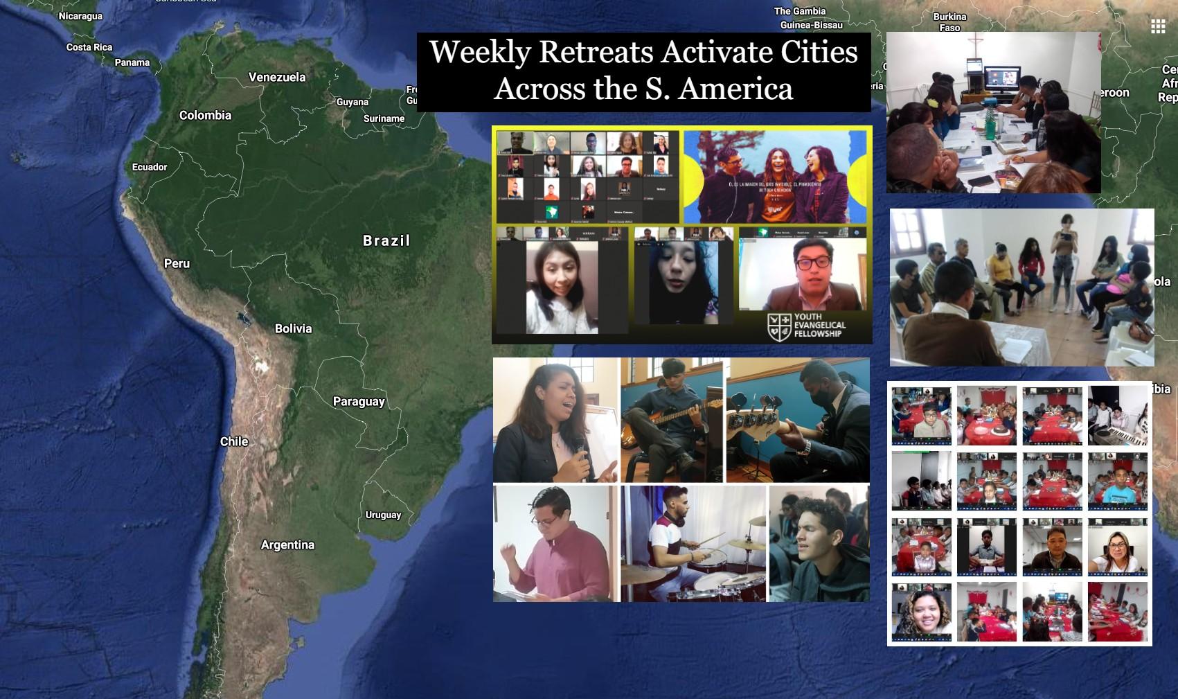 Regular Retreats Across Cities